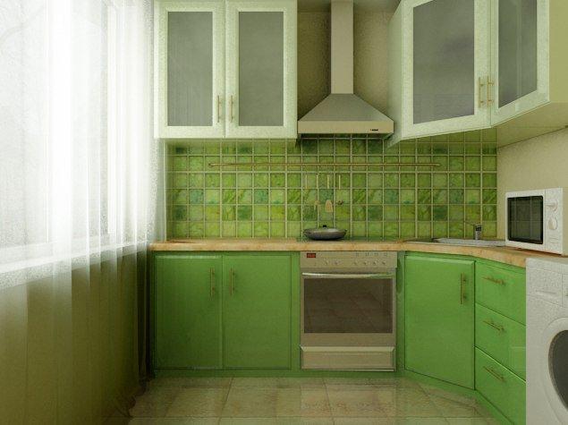 Кухни в хрущевке с колонкой дизайн малогабаритные 5 кв.м